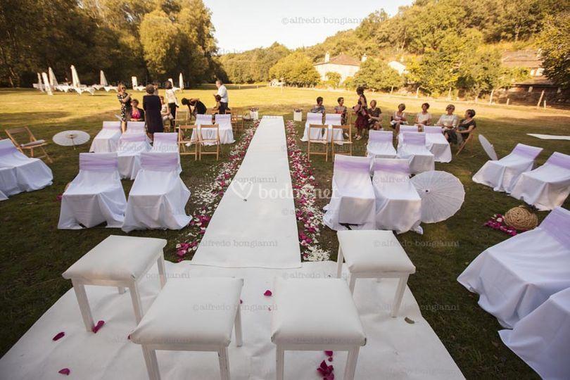 Vuestra boda civil en la naturaleza