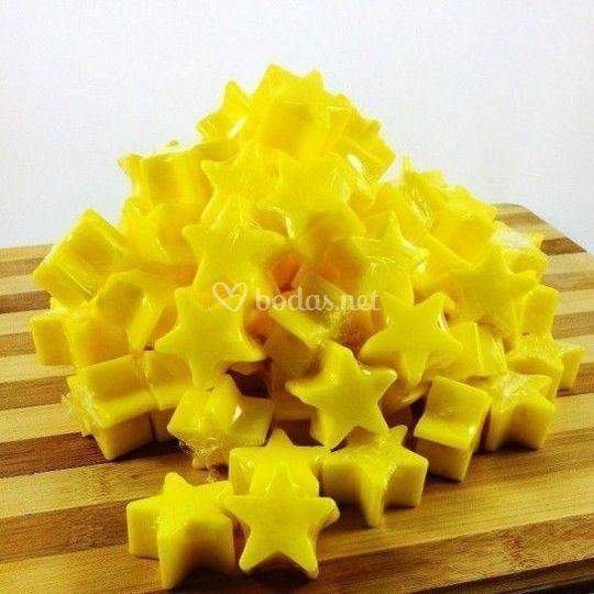 Jabón glicerina aroma plátano