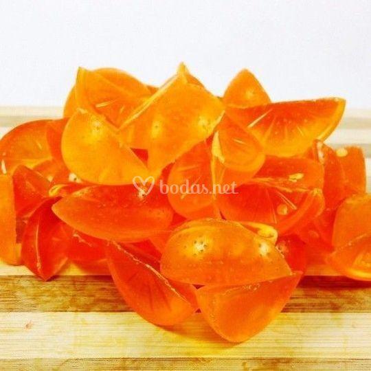 Jabón glicerina aroma naranja