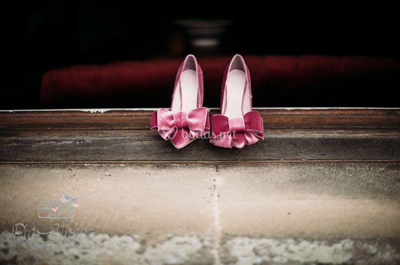 Zapatos de princesa