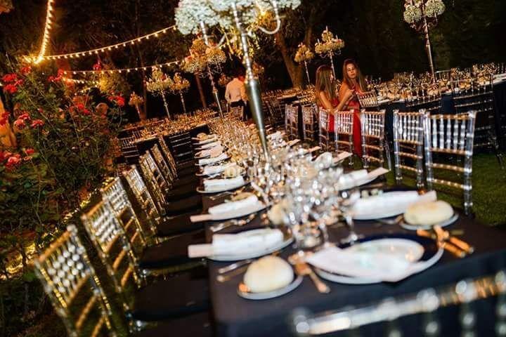 Centros de mesa románticos