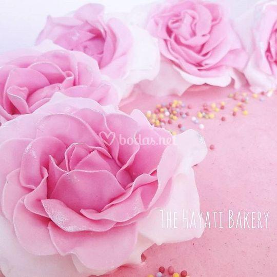 Flores de azúcar handmade