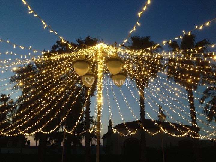 Iluminación en La Pintada