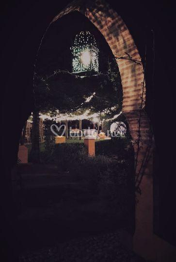 Iluminación de la Posada del Moro