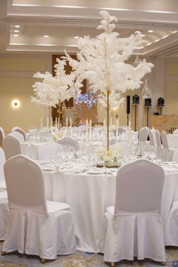 Detalle gran ballroom