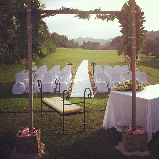 Ceremonia Golf