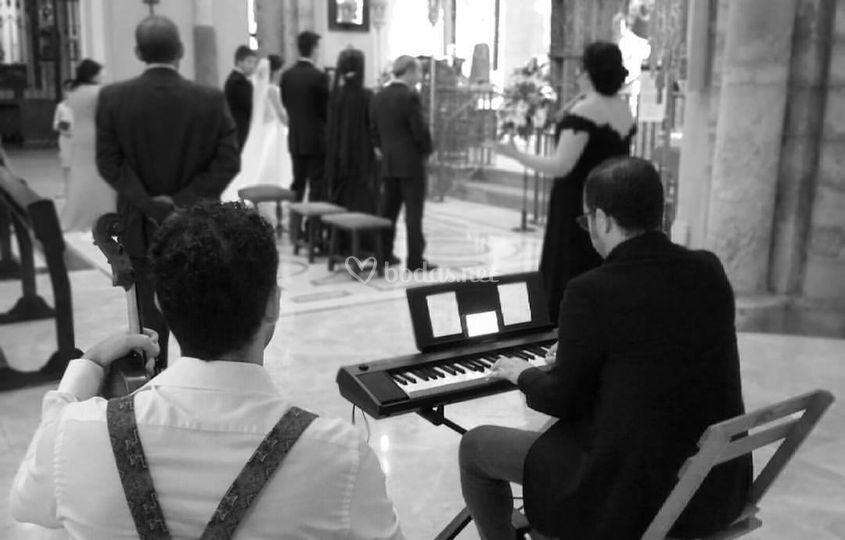 Boda con pianista