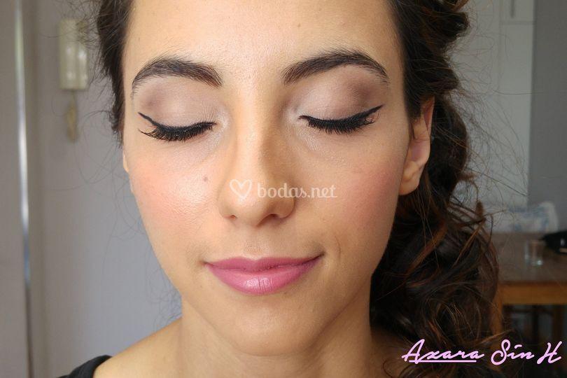 Maquillaje con eyeliner