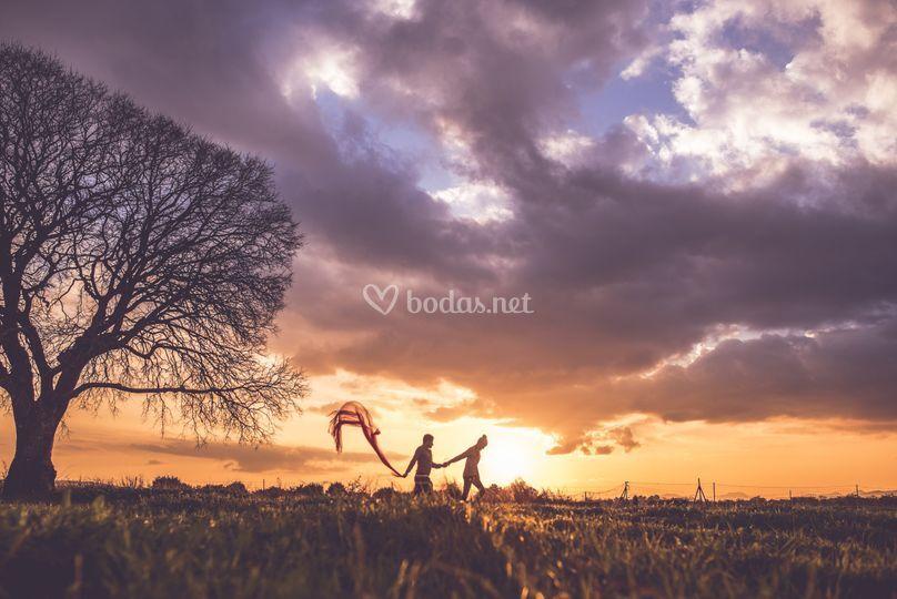 Amor en la hora dorada