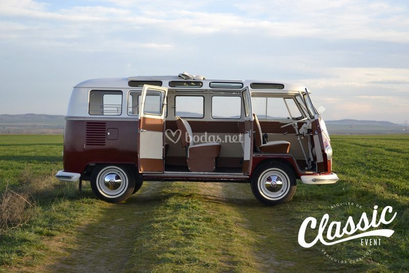 VW T1 Samba 21V del año 1967
