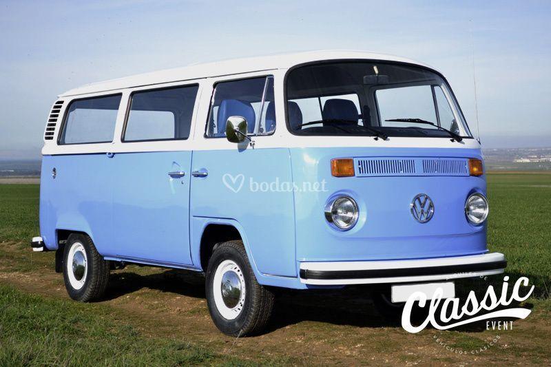 VW T2 combi del año 1978