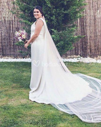 vestido de novia muselina de brea | foto 23