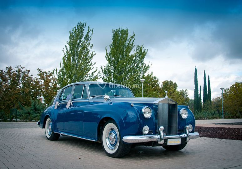 Rolls Royce, parte delantera
