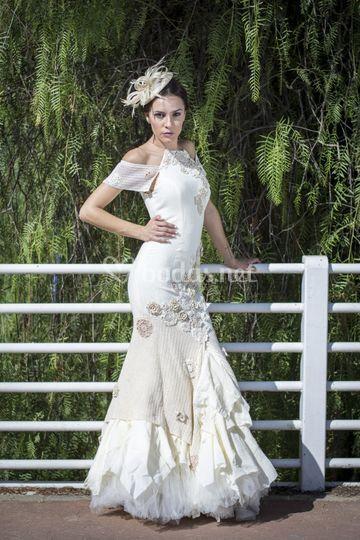 Vestido de novia modelo Cádiz