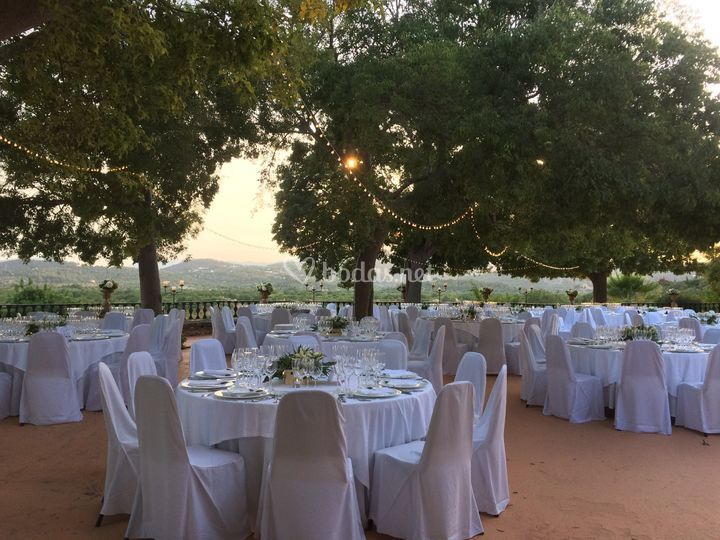 Banquete en Terraza Miranda