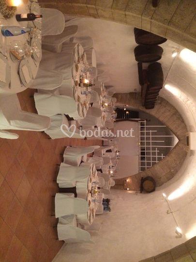 Banquete en Sala Aljibe