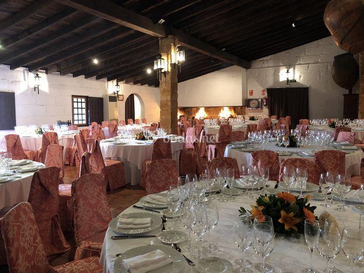 Banquete en Sala Chimeneas