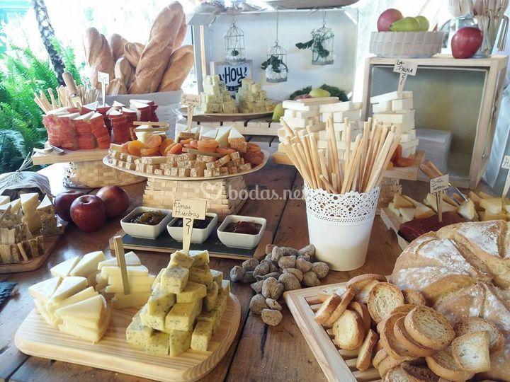 Estación de quesos