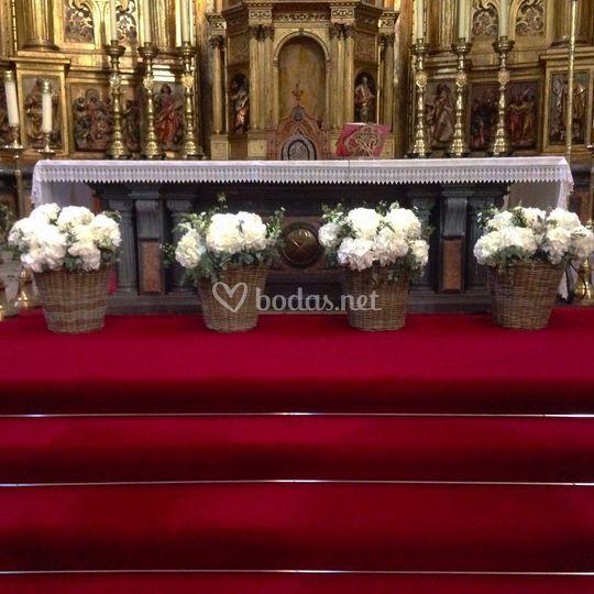 Decoración iglesia