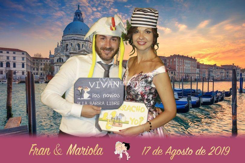 Boda Fran y Mariola
