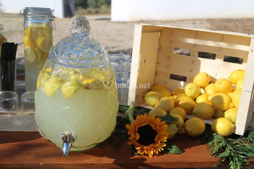 Puesto limonada