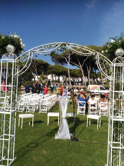 Decoracion boda exterior