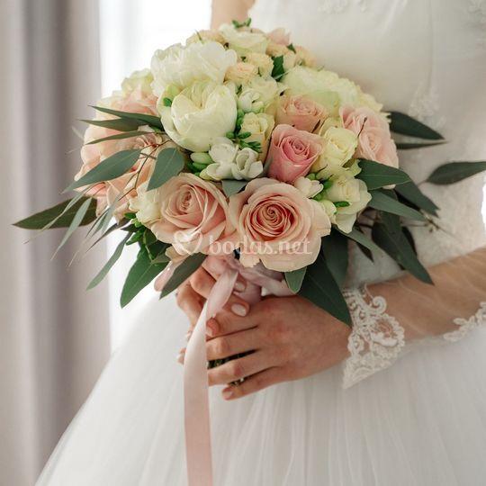 El ramo de novia de Alina