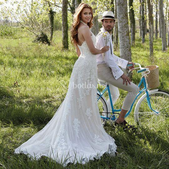 vestido tania de carmen latorre | foto 3
