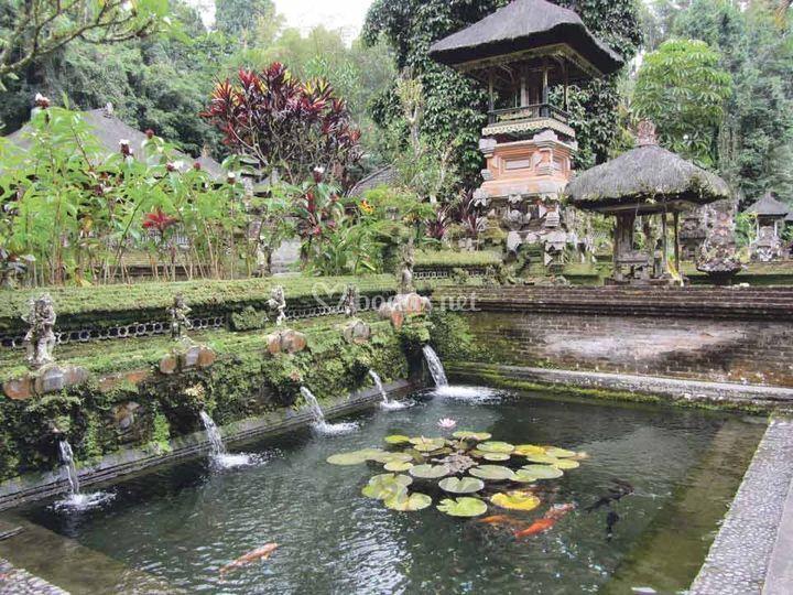 Uno de los muchos templos de Bali