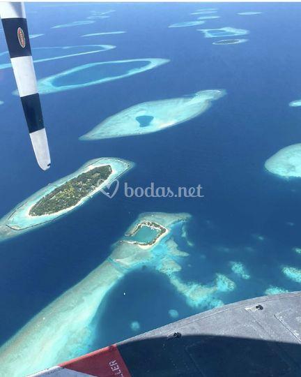El paraíso existe en Maldivas
