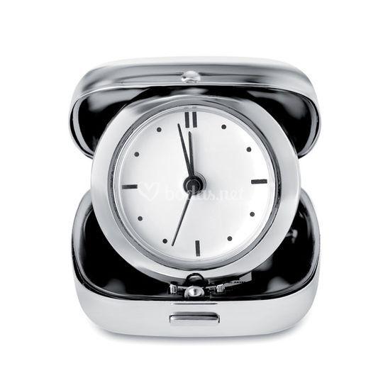 Reloj de viaje personalizado