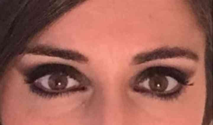 Maquillaje con ojos ahumados