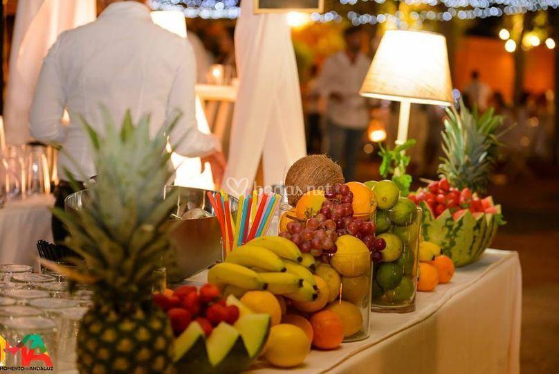 Cócteles fruta