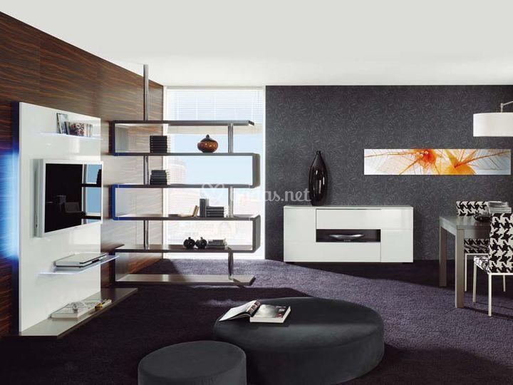 Salones modernos de muebles ilmolde s l fotos - Salones modernos fotos ...