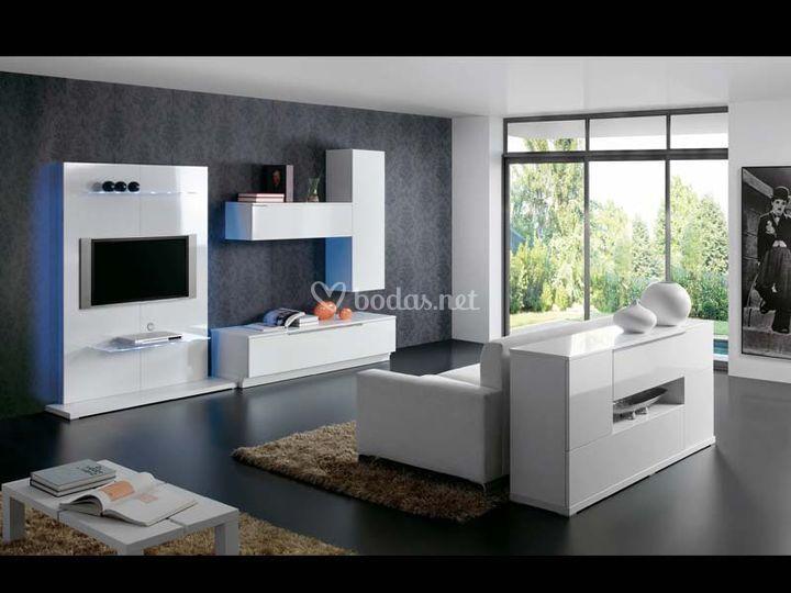 Salones modernos de muebles ilmolde s l foto 1 for Muebles l moderno