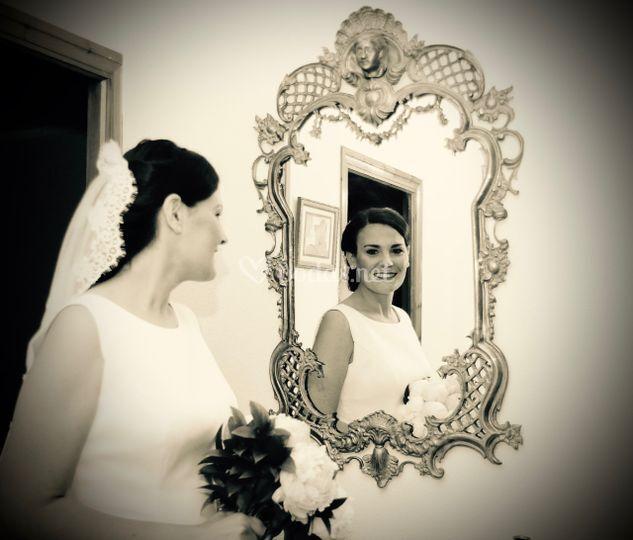 Felicidad a través del espejo.