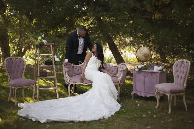 Photocall, casamientos