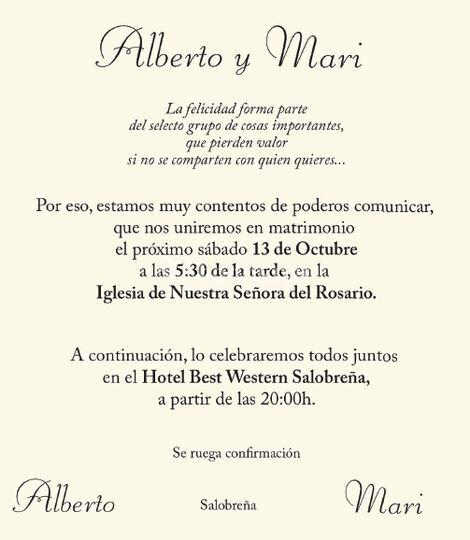 Alberto y Mari