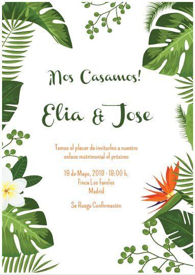 Elia y Jose