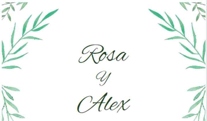 Rosa y Alex