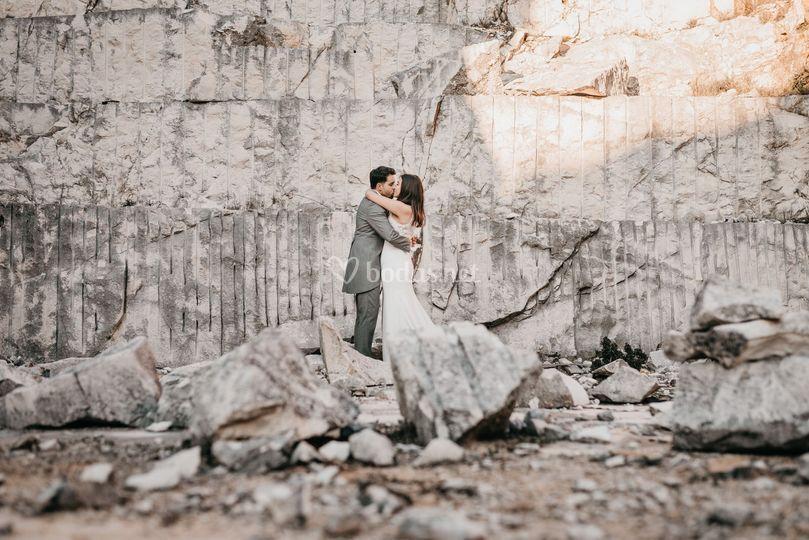 Creando amor sobre la roca