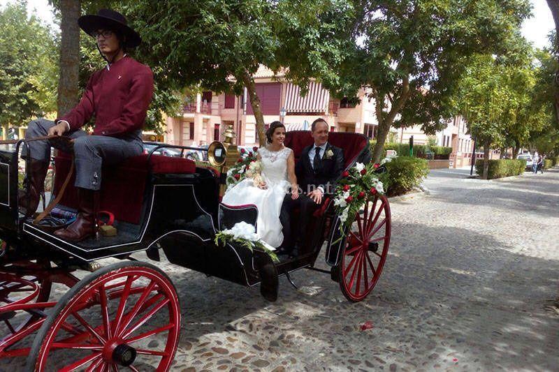 Calesa para bodas