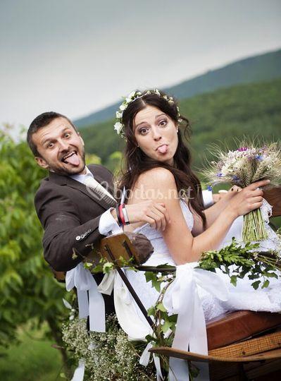 Calesa para boda