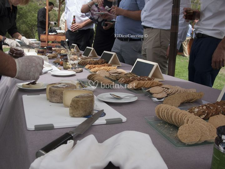 Barra de quesos de Pastor