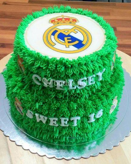 Tarta cumple R.Madrid