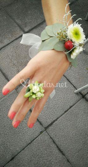 Joyería floral