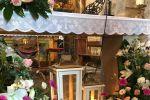 Decoración delante del altar