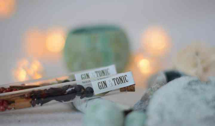 Tubos para gin tonic