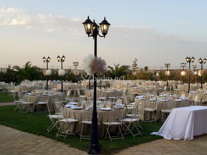 Cena jardín trasero de Los Jardines | Foto 33