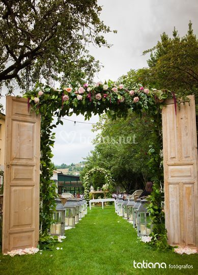 Bodas civiles, decoración